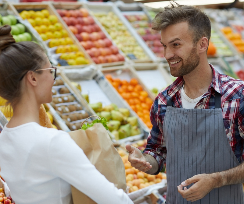 Conseiller de vente de produits naturels
