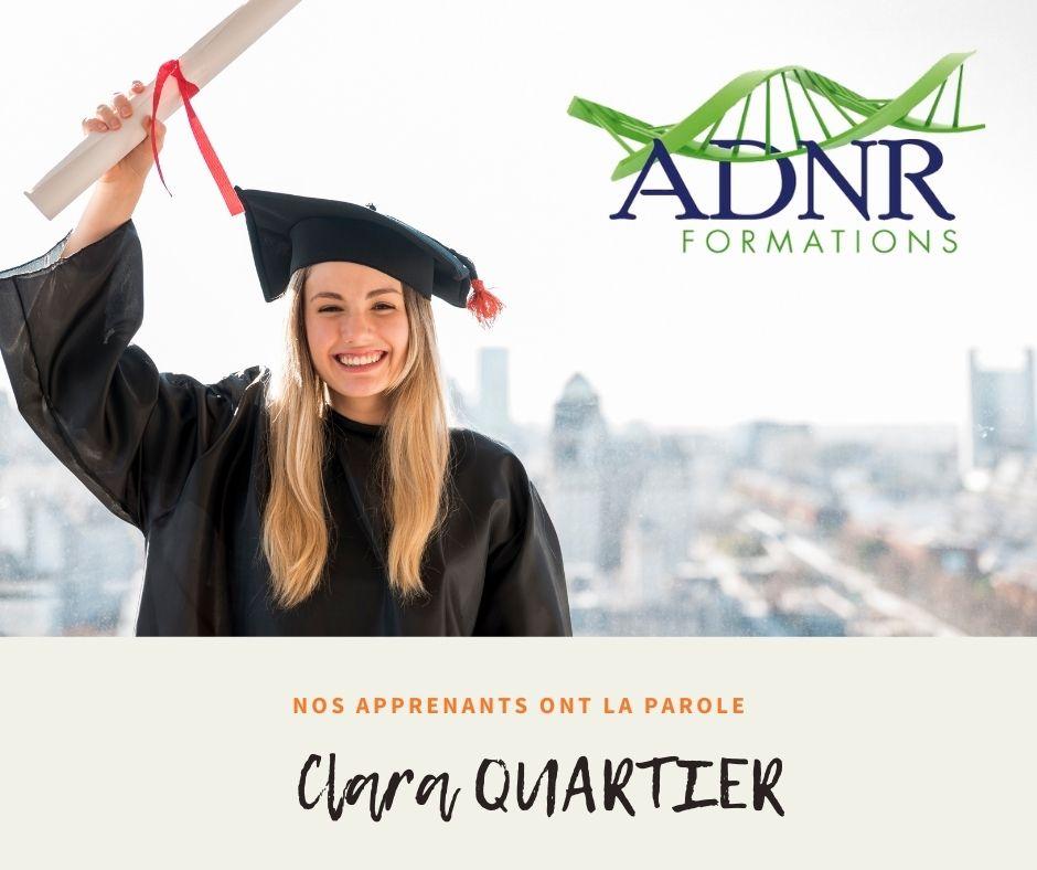 Clara QUARTIER – L'accompagnement des sportifs Crossfiter en naturopathie.